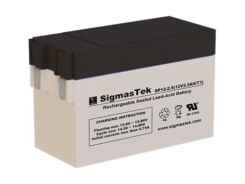 SEL DMU12-3 Replacement 12V 2.5AH SLA Battery