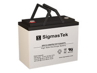 C&D Technologies UPS12-400MR 12V 104AH High Rate Replacement Battery