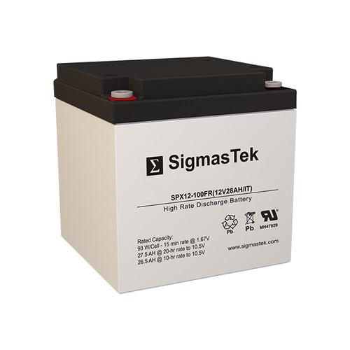C&D Dynasty UPS12-100MR 12V 28AH High Rate Battery