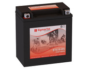 Power Sonic PTX16-BS motorcycle battery