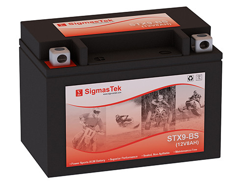 SigmasTek STX9-BS motorcycle battery