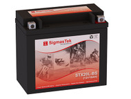 SigmasTek STX20L-BS motorcycle battery
