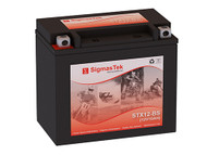 SigmasTek STX12-BS motorcycle battery