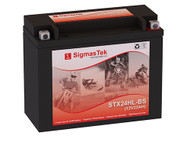 SigmasTek STX24HL-BS motorcycle battery