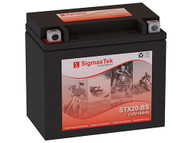 SigmasTek STX20-BS motorcycle battery