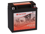 Power Source WPH14L-BS motorcycle battery