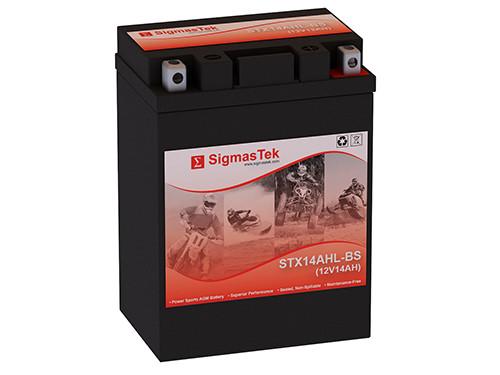 Motocross M62H4L motorcycle battery