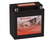 SigmasTek STX20CH-BS motorcycle battery