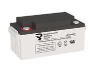 12 Volt 65 Amp Sealed Lead Acid Battery