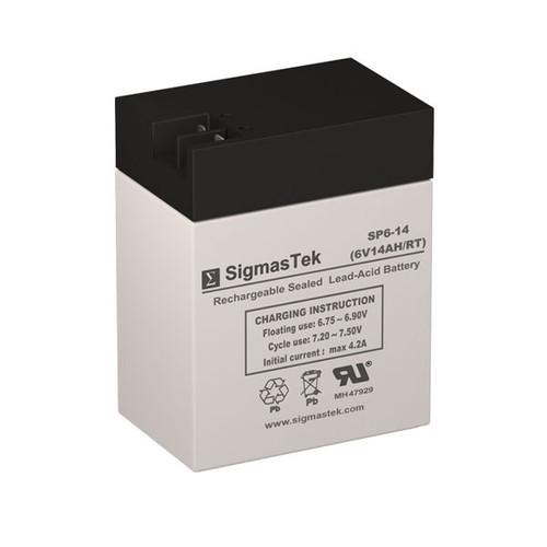 6V 14AH FP SLA Battery