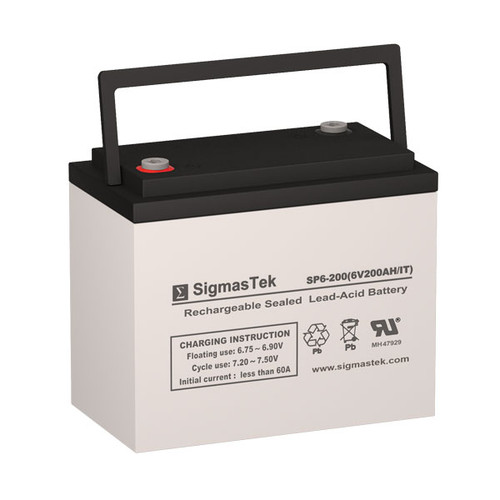 6V 200AH SLA Battery