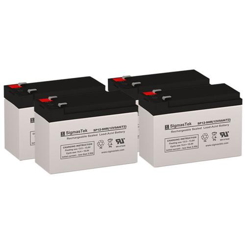 APC RT SMX1500RM2UNC 12V 9AH UPS Replacement Batteries