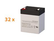 APC Smart UPS RT SURT8000RMXLT UPS Battery Set (Replacement)