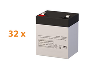 APC Smart UPS RT SURT8000RMXLI UPS Battery Set (Replacement)
