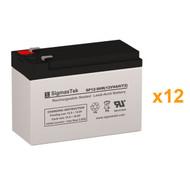 Liebert GXT2-144BATKIT 12V 9AH UPS Replacement Batteries