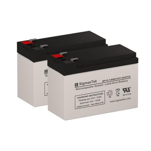 APC / Dell Smart-UPS 700 (DL700RMT5SU) UPS (Replacement) Battery Set
