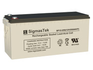 Bright Way Group BW-8D Replacement 12V 250AH SLA Battery