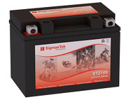 Kinetik APTZ14S motorcycle battery