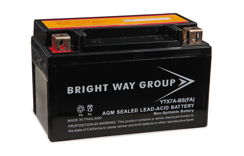 Bright Way Group YTX7A-BS(FA) Original Battery