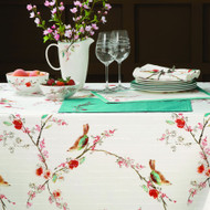 Lenox Chirp Print Tablecloth