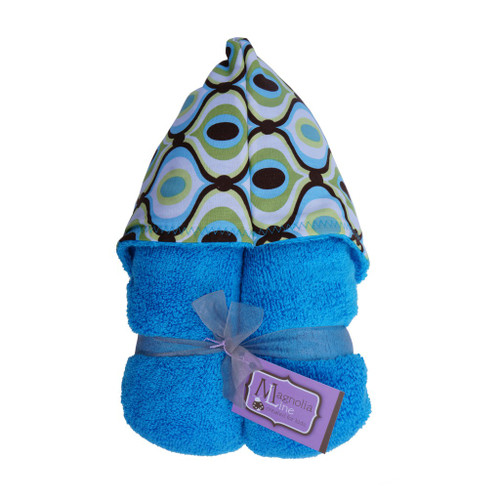 Royal Wave Hooded Towel