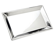 Godinger Hammered Rectangular Silver Tray
