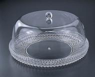 "Acrylic 12"" Cake Platter w/ Dome (Set)"