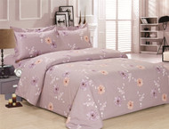 French New Lavender Rose Linen Set