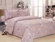 French New Lavender Rose Linen Set