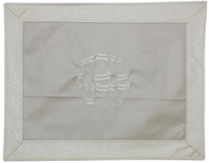 Majestic Collection Vinyl Challah Cover - Cream