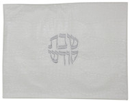 Majestic Collection Vinyl Challah Cover - White (GMG-CC250)
