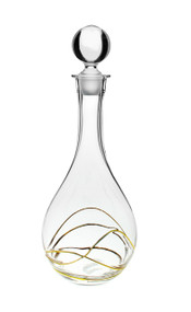 Swirl Gold Decanter (CSBG383)
