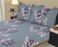 Botanic Purple Linen Set