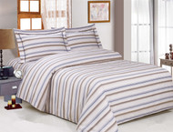 French Yardley Stripe Linen Set