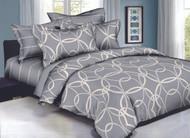 Grey Loops Linen Set