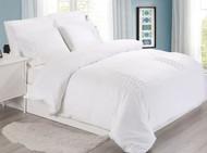 White Tucks Linen Set