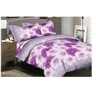 Purple Perennials Linen Set