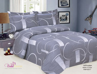 French Abstract Linen Set