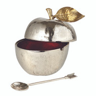 Golden Vine Honey Pot with Spoon
