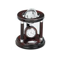 Galaxy Globe and Clock