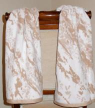 Marble Beige Oversized Hand Towel