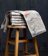 Blossom Beige Oversized Hand Towel