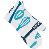 Set of 2 Oven Mitts - Dairy