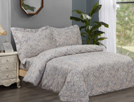 French New Waves Linen Set