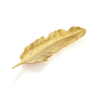 Michael Aram Feather Tray Gold