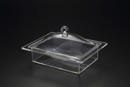 Acrylic Rectangle Tray & Cover