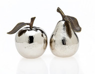 Godinger Apple & Pear Salt & Pepper Set