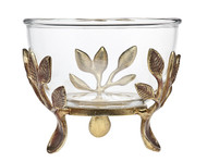 Godinger Laurel Glass Bowl