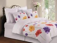 Multi Floral Linen Set