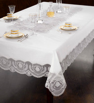 European Victorian Lace Tablecloth